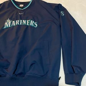 Nike Mariners men's xl warm up wind breaker jacket